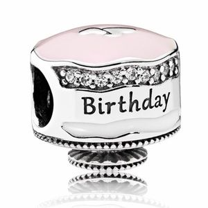 Pandora birthday cake charm
